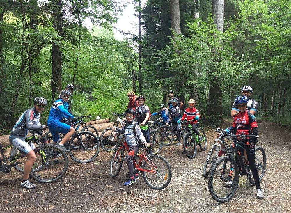 Entrainement junior du Vélo Club Vevey