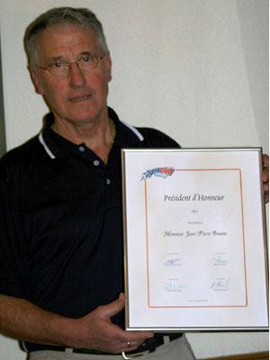 Jean-Pierre Baume - Président d'honneur