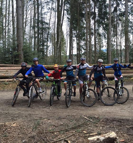 Entrainement VTT - Ecole du cyclisme
